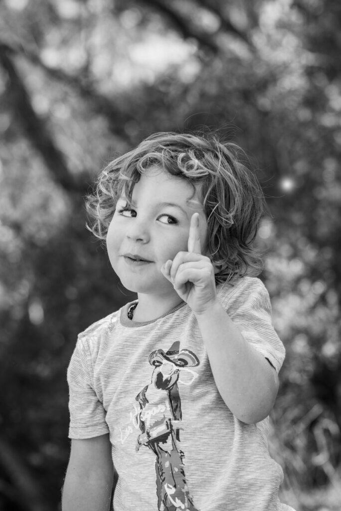 cheeky kids portraits